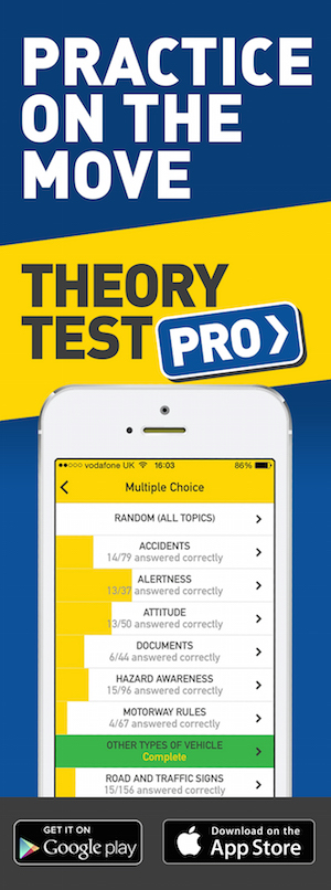 Theory Test Pro in partnership with Vic's Driving School